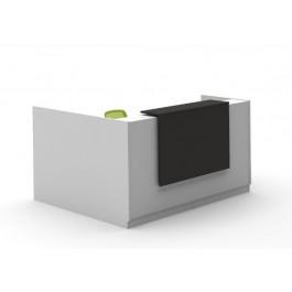 Opal L Shaped Reception Counter / Reception Desk