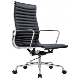 Eames Replica Leather High Back Boardroom / Meeting Room Chair