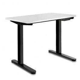 Height Adjustable Desk - White  / Black