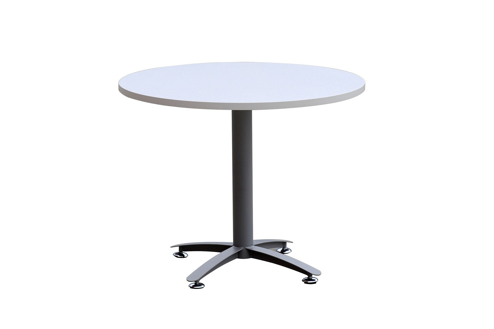 Round Conference Table Metal Way Base Leg Boardroom Tables - Round pedestal conference table