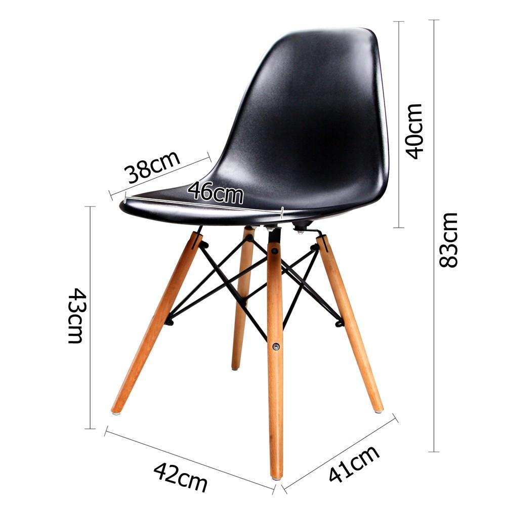 Replica Eames Eiffel Side Chairs X2 Chairs