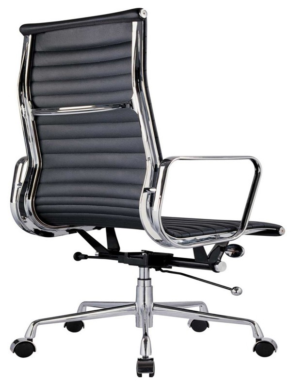 Eames Replica Leather High Back Boardroom / Meeting Room Chair ...
