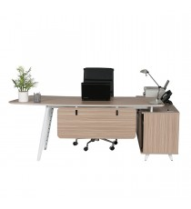 E2 Desk - Tawny Linewood