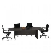 Boardroom Table - Blackened Linewood