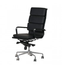 Padded Eames Replica Boardroom / Visitor Chair - High Back