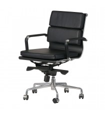 Padded Eames Replica Boardroom / Visitor Chair - Medium Back