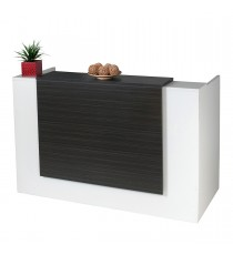 Excel Reception Counter / Reception Desk - Blackened Linewood 2100L