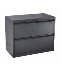 Metal 2 Drawer Lateral Filing Cabinet