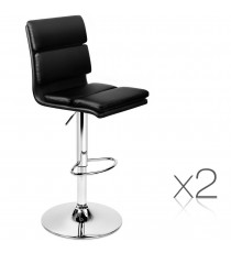 PU Leather Wooden Stool 1171 x2