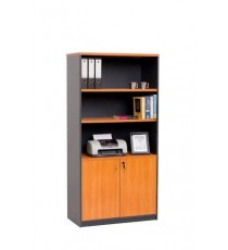 Cupboard with Open Bookcase