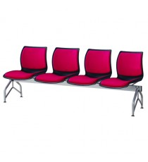 Case Beam Upholstered 4-Seat