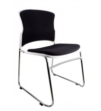 Eve Chair - Padded - White
