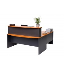 Bow Front Reception Counter