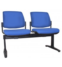 Maxi Beam Upholstered 2-Seat
