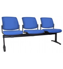 Maxi Beam Upholstered 3-Seat