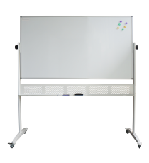 Double Sided Mobile Whiteboard 1500L