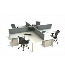 50mm 4-Way Desk