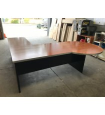 Used Open Desk and Right Hand Side Return