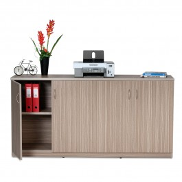 Hinge Door Credenza / Buffet 1800L - Tawny Linewood