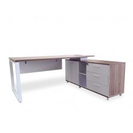 AERO Office Suite - Walnut Finish