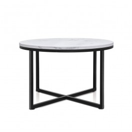 Round Coffee Table - Marble Laminate
