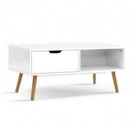 Lush Coffee Table - White