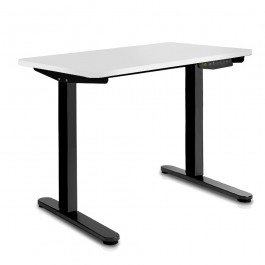 Height Adjustable Desk - White  / Black