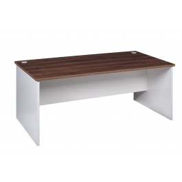 Open Desk 1800L x 750D - Walnut / White