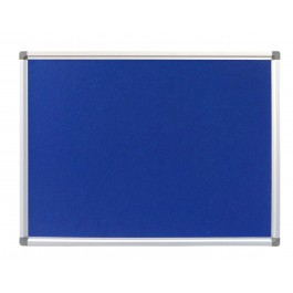 Premium Blue Fabric Office Pin board