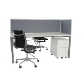 50mm Frame Single Desk 900D