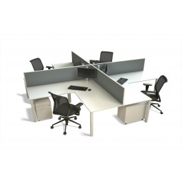 50mm 4-Way Desk
