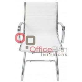 Eames Replica Boardroom / Visitor Chair White