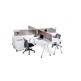 Vee 4-Way Desk