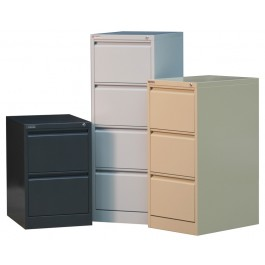 Metal Filing Cabinet 4 Drawer - Premium Grade