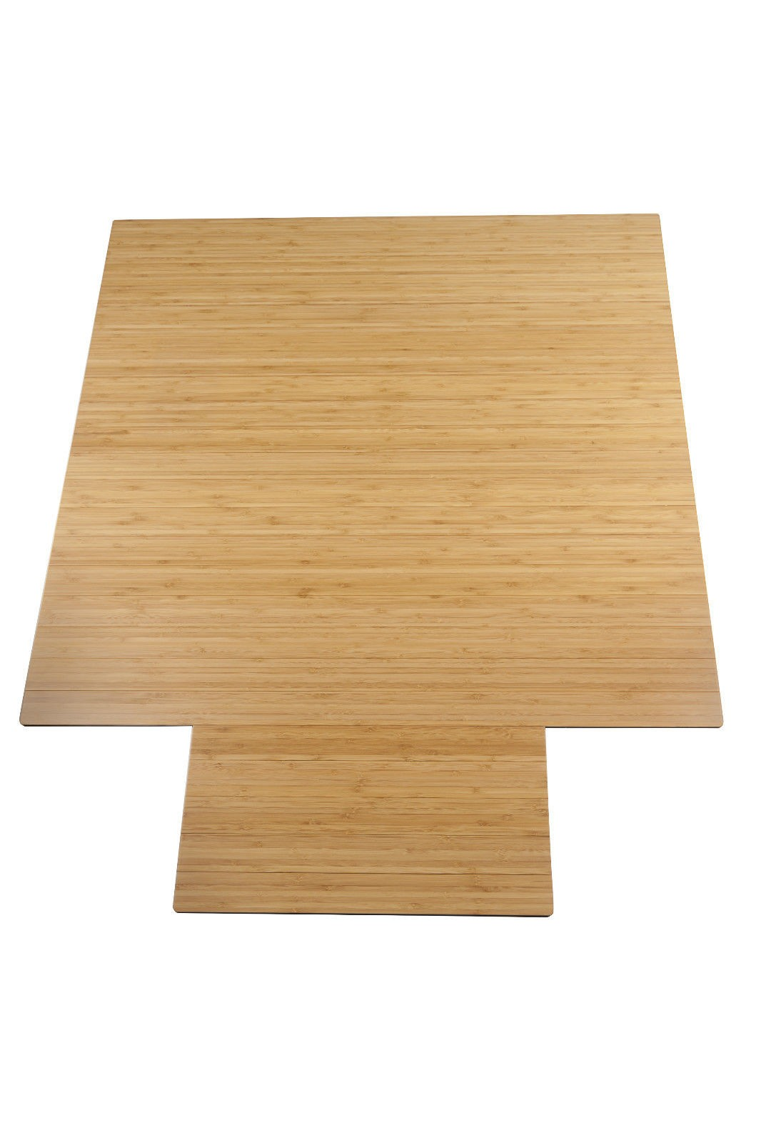Eco Friendly Bamboo Office Chair Mat Small