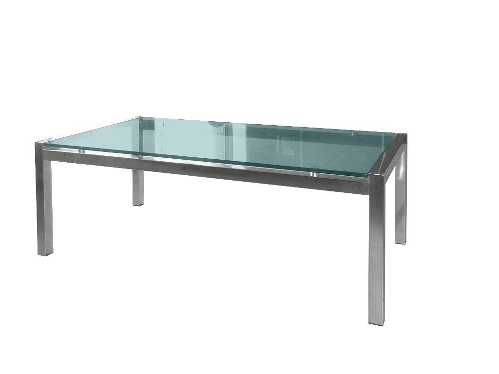 Office / Waiting Room Glass Coffee Table 1200L - Coffee Tables