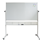 Double Sided Mobile Whiteboard 1200L