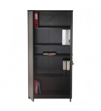 Storage Cupboard - Blackened Linewood
