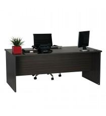 Open Desk 189 - Blackened Linewood
