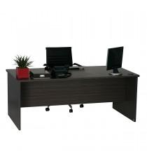 Office Desk 157 - Blackened Linewood