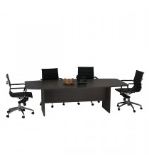 Boardroom Table - Blackened Linewood