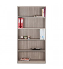 Tawny Linewood Open Bookcase