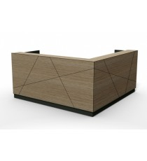Axis Reception Counter / Reception Desk - Commercial Colours