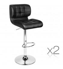 Leather Seat Stool 4059 x2