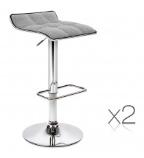 Fabric Seat Stool 1002A x2