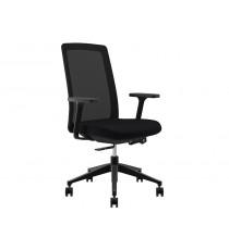 Bravo Mesh Back Chair - Black