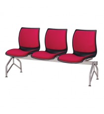 Case Beam Upholstered 3-Seat
