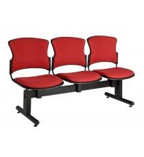Focus Beam Upholstered 3-Seat