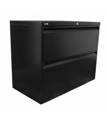 Heavy Duty Metal 2 Drawer Lateral Filing Cabinet