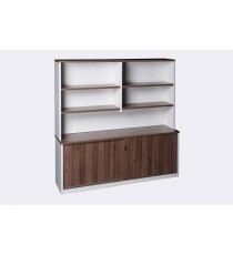 Wall Unit 1800L  - Walnut